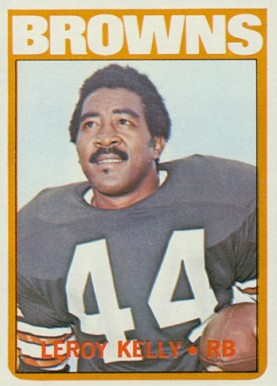1972 Topps Leroy Kelly #70 Football Card