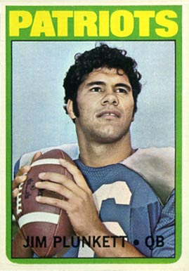 1972 Topps Jim Plunkett #65 Football Card