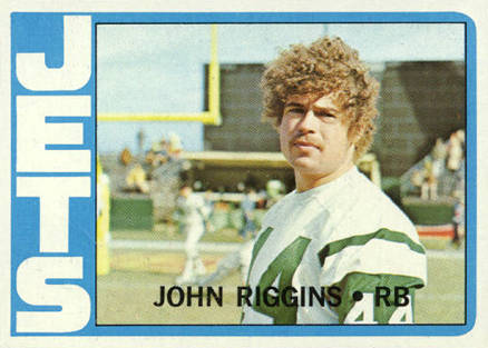 1972 Topps John Riggins #13 Football Card