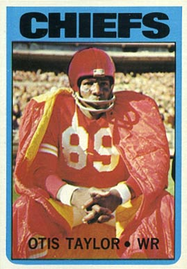 1972 Topps Otis Taylor #10 Football Card
