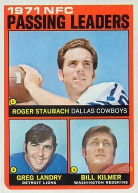 1972 Topps Roger Staubach #4 Football Card