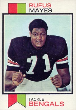 1973 Topps Rufus Mayes #268 Football Card