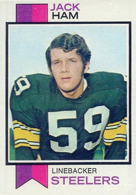1973 Topps Jack Ham #115 Football Card