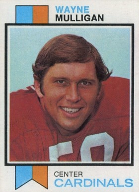 1973 Topps Wayne Mulligan #401 Football Card