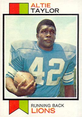 1973 Topps Altie Taylor #448 Football Card