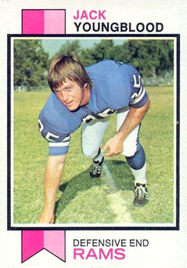 1973 Topps Jack Youngblood #343 Football Card