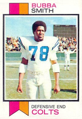 1973 Topps Bubba Smith #155 Football Card