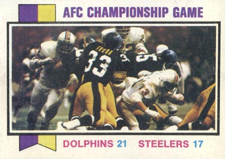 1973 Topps   #138 Football Card