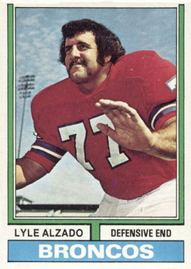 1974 Topps Lyle Alzado #321 Football Card
