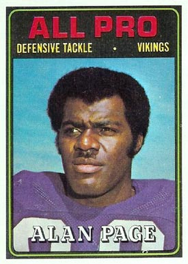 1974 Topps Alan Page #134 Football Card