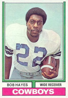 1974 Topps Bob Hayes #28 Football Card