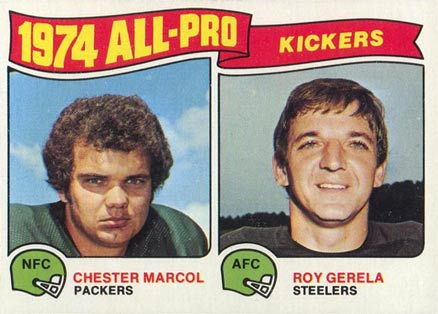 1975 Topps All-Pro Kickers #212 Football Card