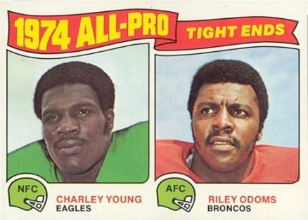 1975 Topps All-Pro Tight Ends #207 Football Card