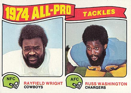 1975 Topps All-Pro Tackles #202 Football Card