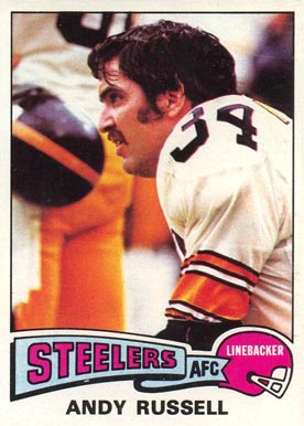 1975 Topps Andy Russell #90 Football Card