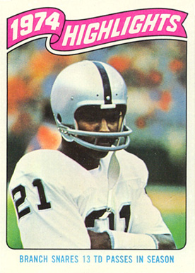 ACEO CLIFF BRANCH OAKLAND RAIDERS CUSTOM HAND MADE ART CARD