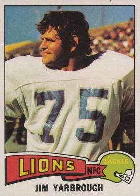 1975 Topps Jim Yarbrough #279 Football Card