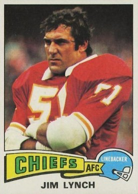 1975 Topps Jim Lynch #254 Football Card