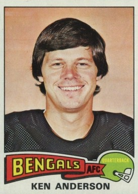 1975 Topps Ken Anderson #160 Football Card