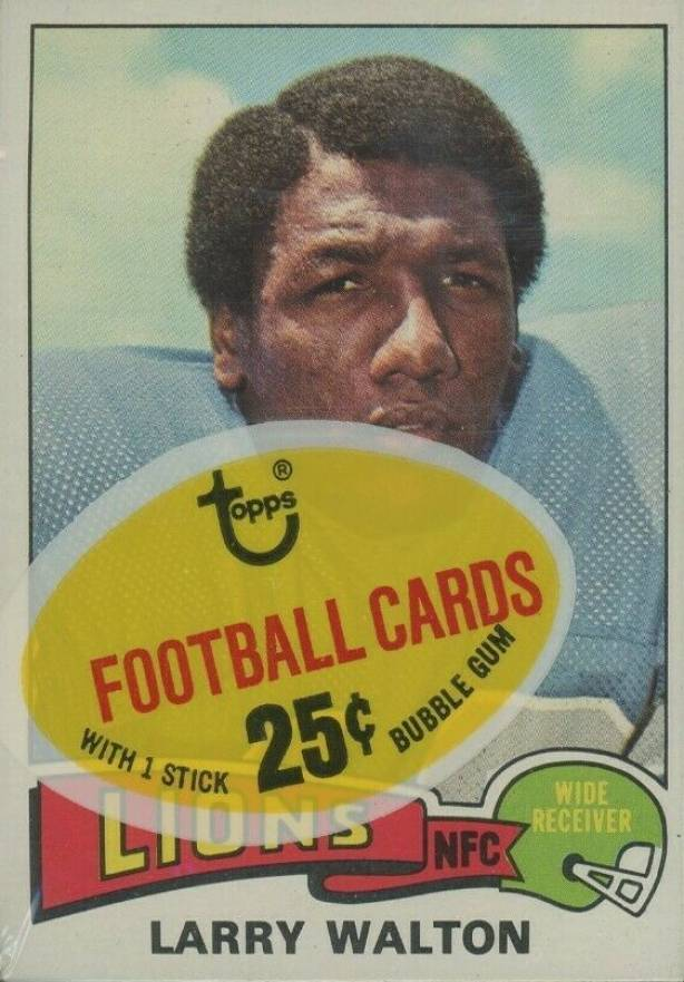 1975 Topps Cello Pack #CP Football Card