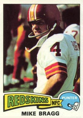 1975 Topps Mike Bragg #506 Football Card