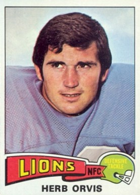 1975 Topps Herb Orvis #514 Football Card