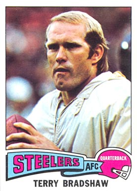 1975 Topps Terry Bradshaw #461 Football Card