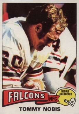 1975 Topps Tommy Nobis #436 Football Card