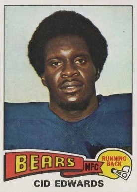 1975 Topps Cid Edwards #429 Football Card