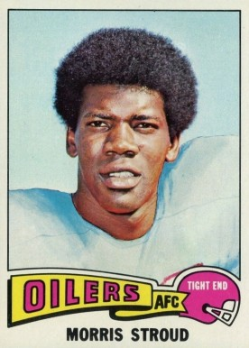 1975 Topps Morris Stroud #426 Football Card