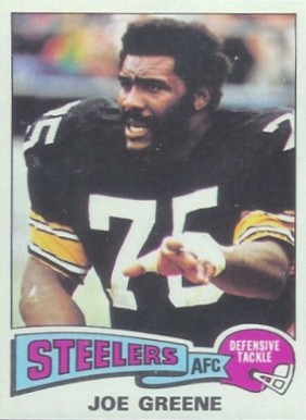 1975 Topps Joe Greene #425 Football Card