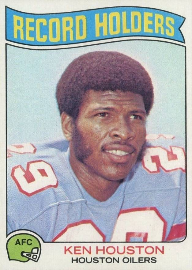 1975 Topps Ken Houston #354 Football Card