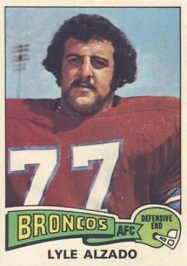 1975 Topps Lyle Alzado #322 Football Card