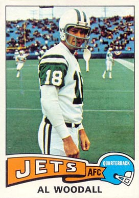 1975 Topps Al Woodall #287 Football Card