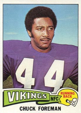 1975 Topps Chuck Foreman #240 Football Card