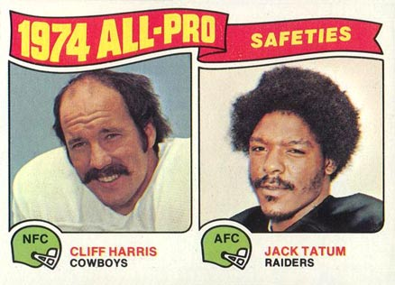 1975 Topps All-Pro Safeties #223 Football Card