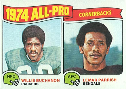 1975 Topps Willie Buchanon #221 Football Card