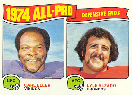 1975 Topps All-Pro Ends #216 Football Card