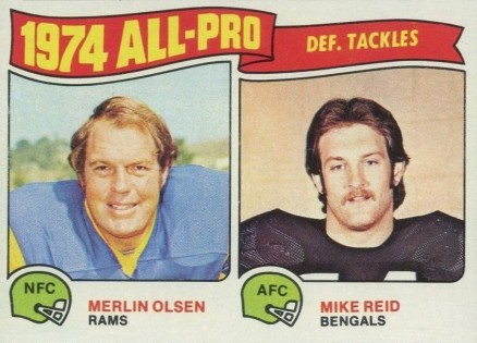 1975 Topps All-Pro Tackles #215 Football Card