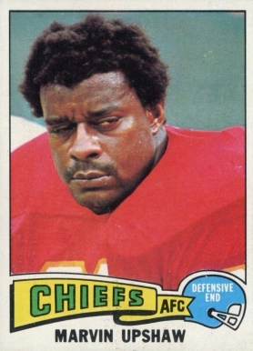 1975 Topps Marvin Upshaw #147 Football Card