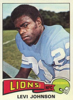 1975 Topps Levi Johnson #119 Football Card