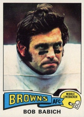 1975 Topps Bob Babich #82 Football Card