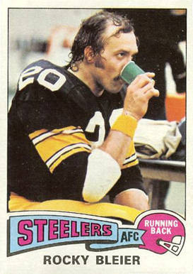 1975 Topps Rocky Bleier #39 Football Card