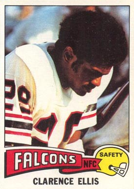 1975 Topps Clarence Ellis #18 Football Card