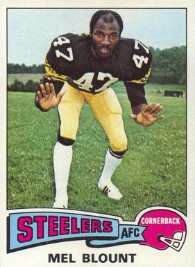 1975 Topps Mel Blount #12 Football Card