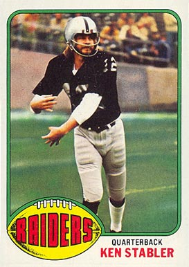 1976 Topps Ken Stabler #415 Football Card