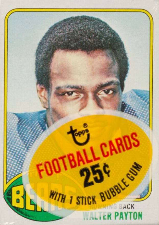 1976 Topps Cello Pack #CP Football Card