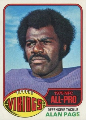 1976 Topps Alan Page #150 Football Card