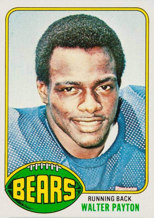 1976 Topps Walter Payton #148 Football Card