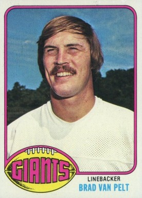 1978 Topps Football Card #270 Brad Van Pelt
